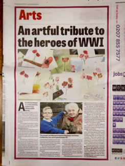 ian potts paint a poppy sunderland echo