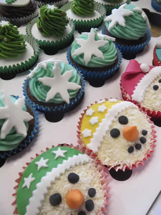 Cakes and Christmas cards